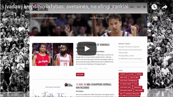 Krepšinio statymai: Naudingos svetainės ir įrankiai