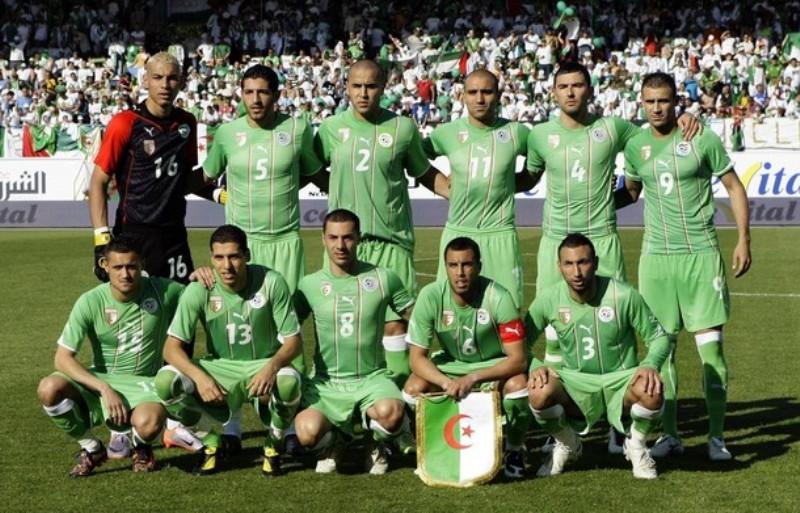 Alžyro nacionalinė futbolo rinktinė