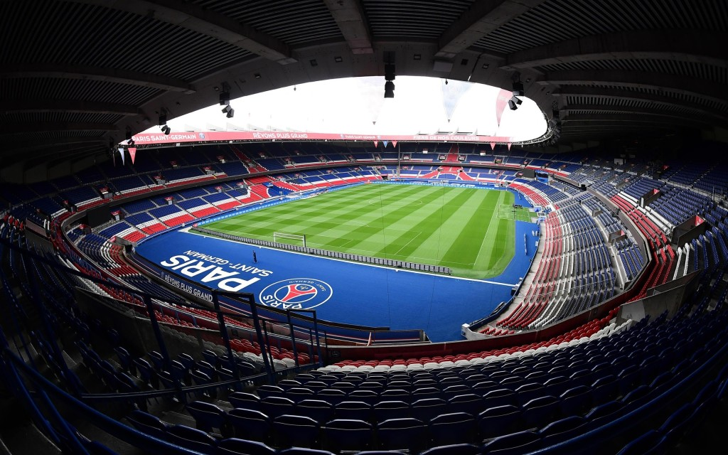 Parc des Princes Paris Saint Germain Stadionas