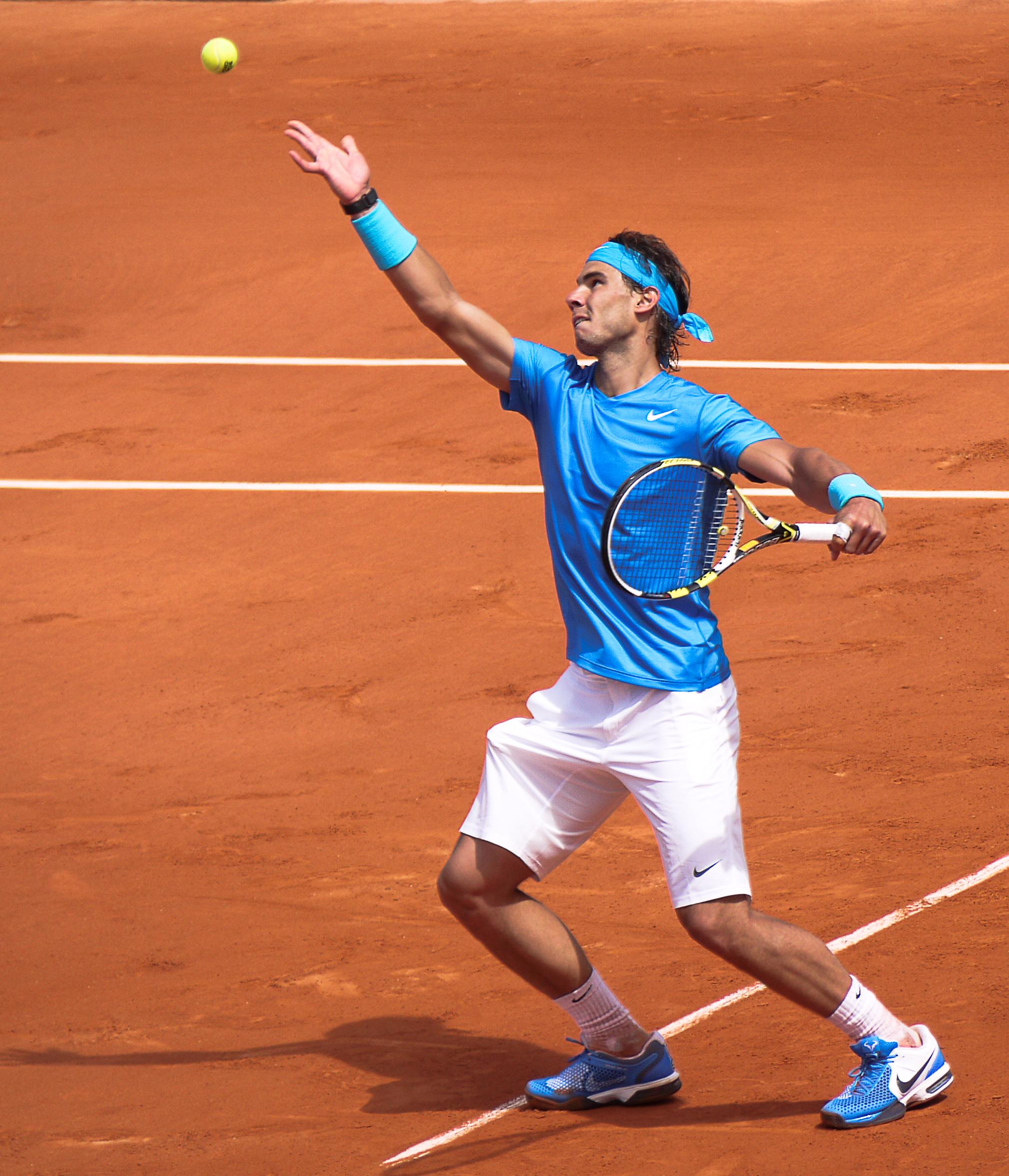 Rafaelis Nadalis bandys laimėti 10 Roland Garros teniso turnyrą
