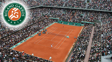 roland garros teniso turnyras Prancūzijoje