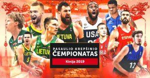 Pasaulio krepšinio čempionatas 2019