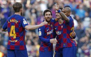 barcelona ir messi cempionu lygos rezultatai